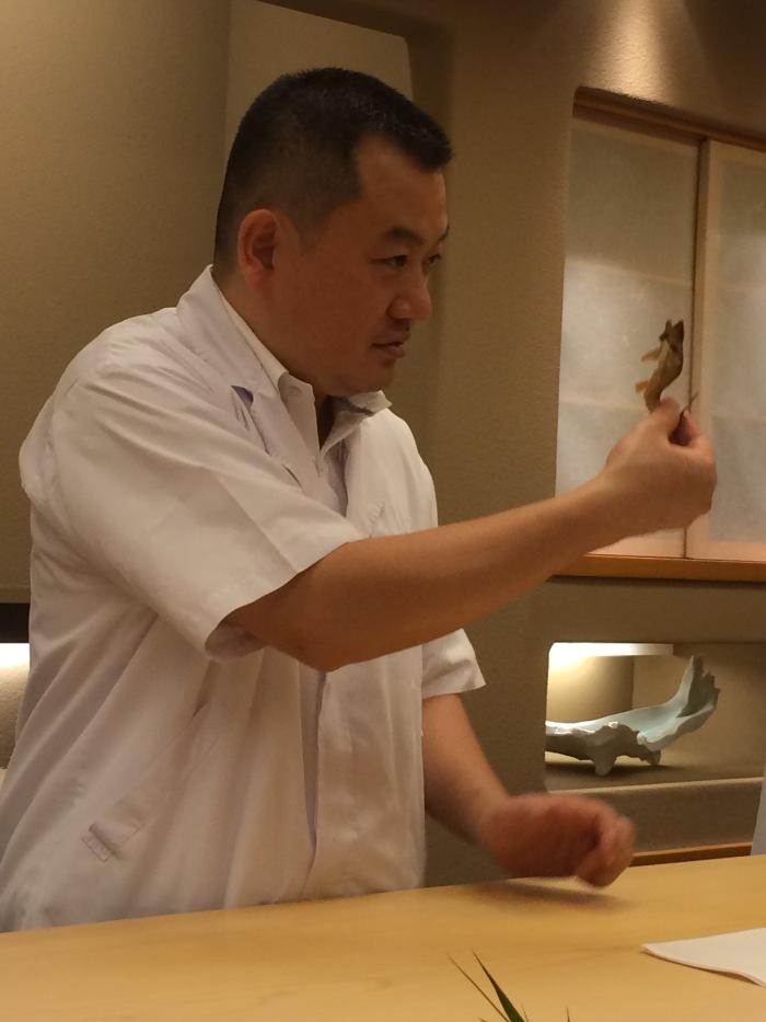 Chef Okuda Ginza Kojyu Tokyo