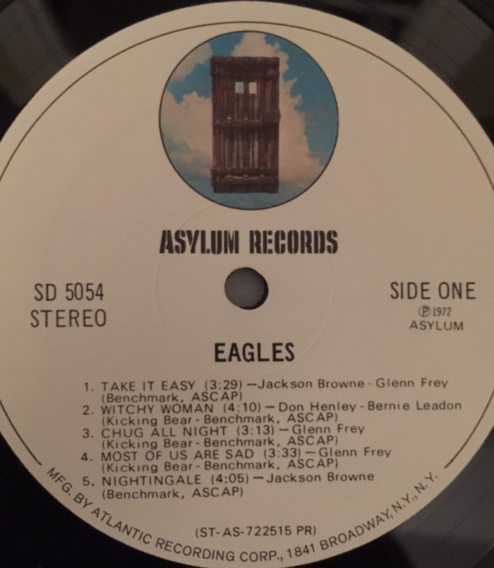 Eagles debut album