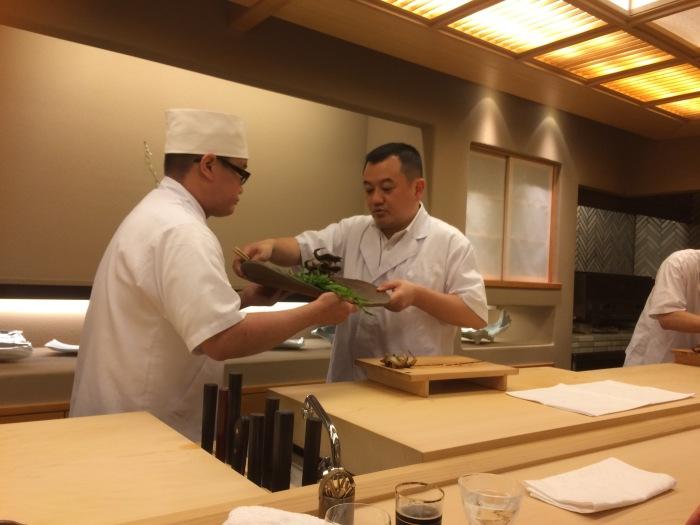 Ginza Kojyu grilled Ayu fish recipe