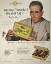 Humphrey Bogart Candy ad