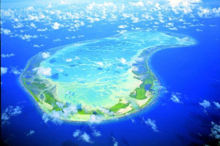 Kiribati island disappearing