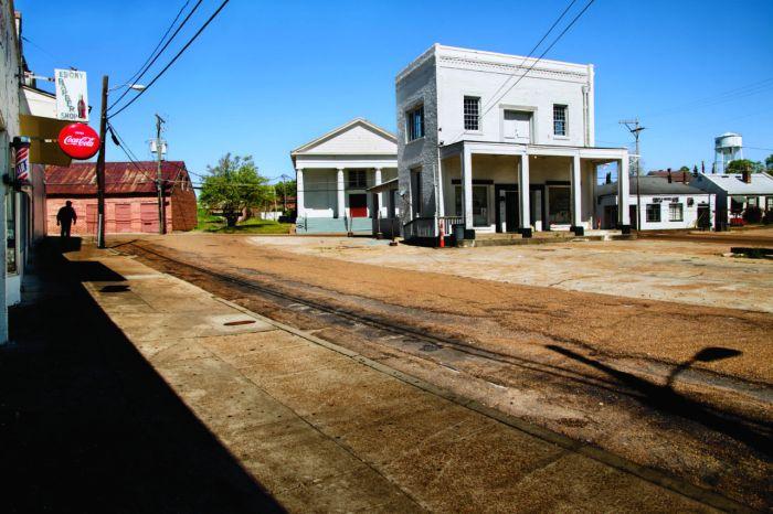 DSC_6105, Deep South, USA. Shot of an empty street. retouched_Ekaterina Savtsova 09/25/2014
