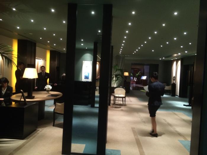 Park Hyatt lobby