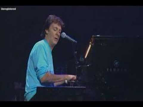 Paul McCartney Fixing A Hole live