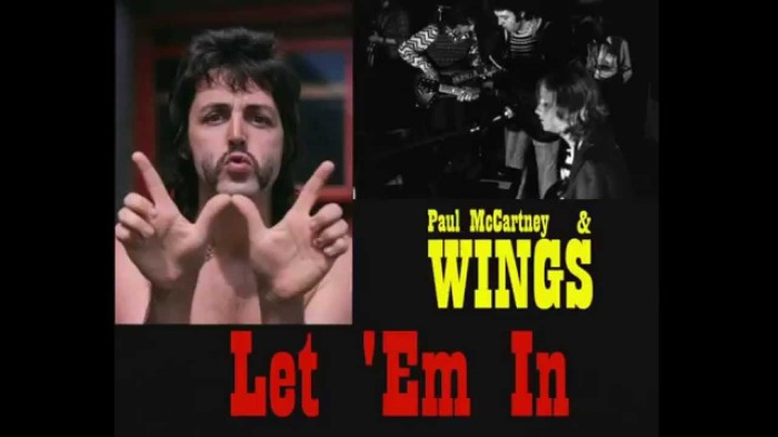 Paul McCartney Wings Let 'em In