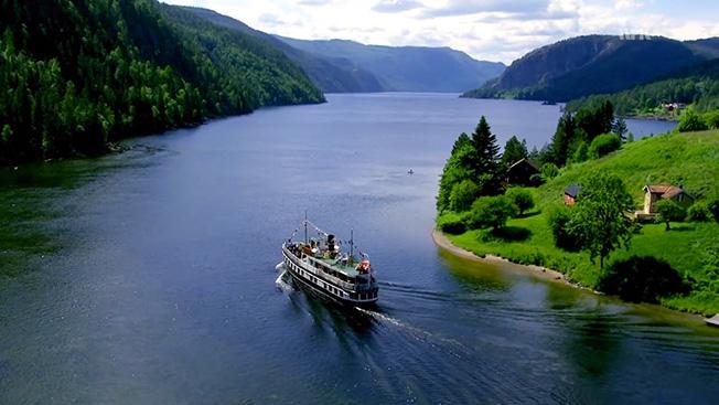 slow TV boat trip Norway