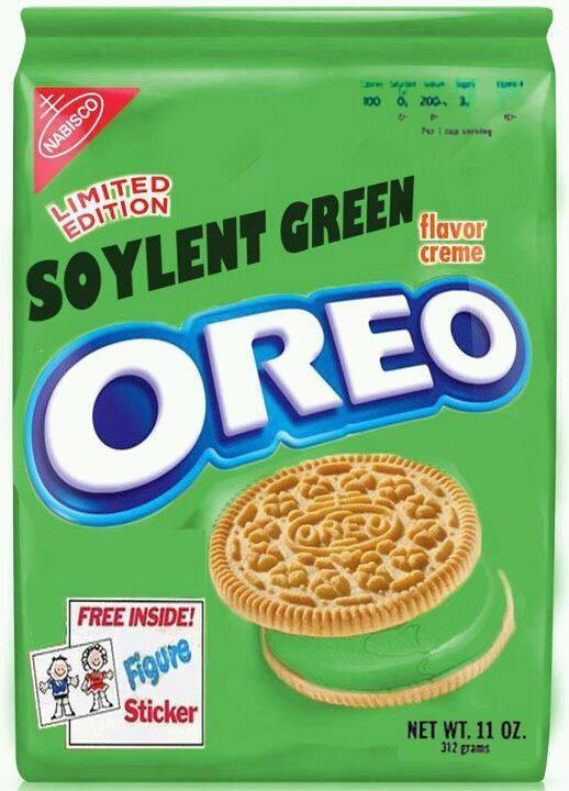 Soylent Green Oreos