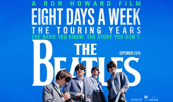 Eight Days A Week Beatles documentary