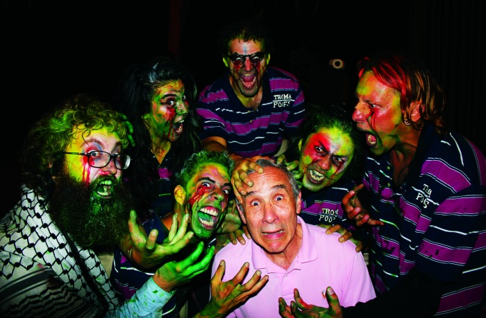 UNDATED - Photo of  Lloyd and the Cretins, photo from the making of RTNH Vol. 1 Return to Nuke Em High Volume 1-HANDOUT Photo Courtesy of Mayfair Theatre