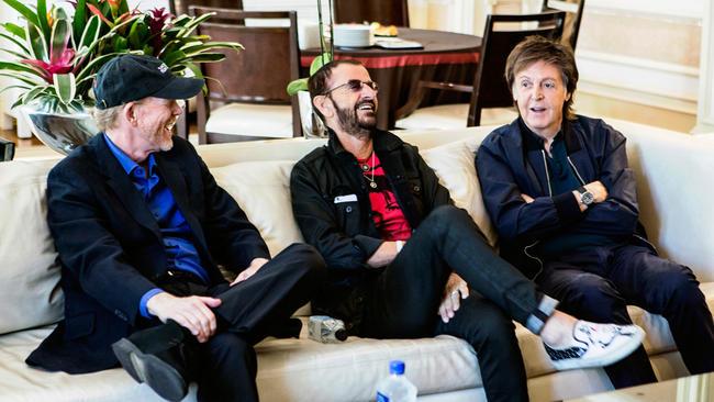 McCartney, Ringo and Ron Howard