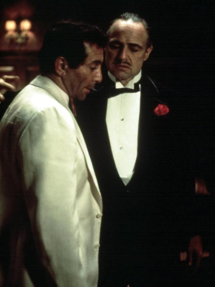 THE GODFATHER, Al Martino, Marlon Brando, 1972