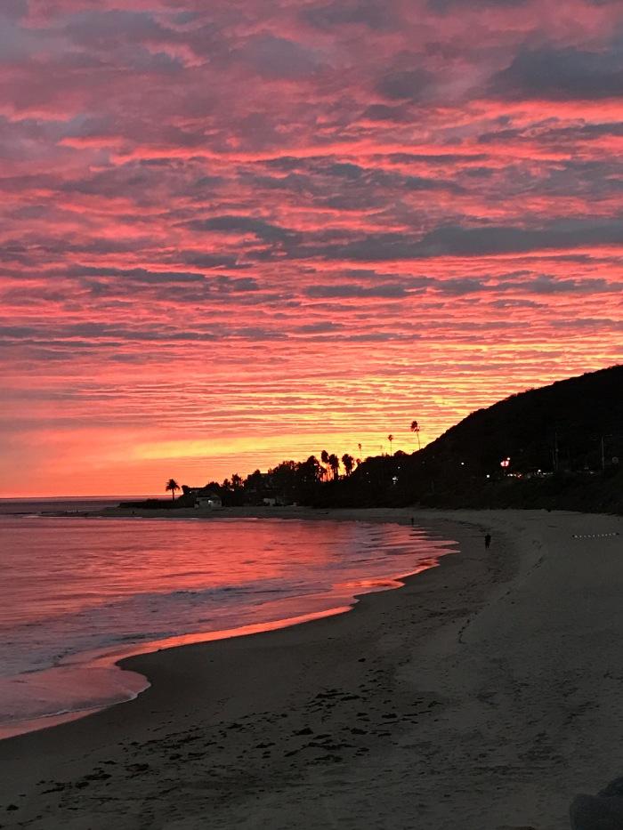 malibu-california-beach-sunset