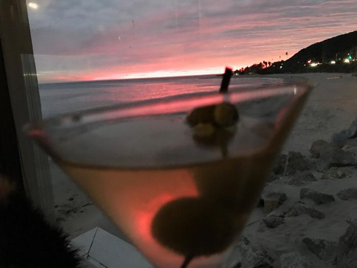 malibu-sunset-thru-martini
