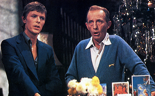 UNSPECIFIED - JANUARY 01:  (AUSTRALIA OUT) Photo of Bing CROSBY and David BOWIE; with Bing Crosby, performing Little Drummer Boy  (Photo by GAB Archive/Redferns)