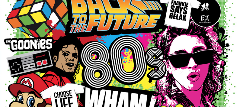 I love the 80 s stranger things season 2 trailer the - I love 80s wallpaper ...