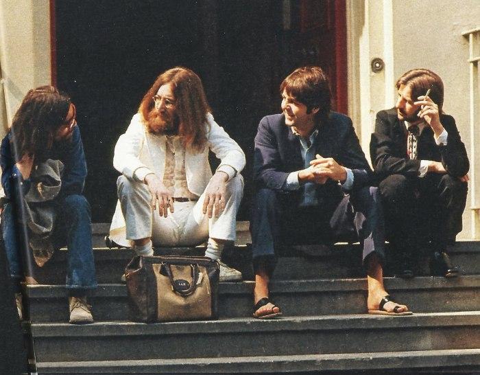 Beatles at abbey-road
