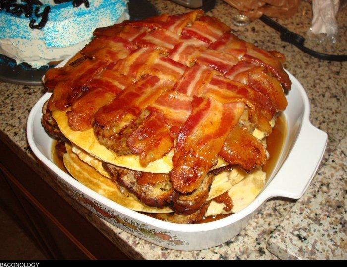 bacon weave breakfast
