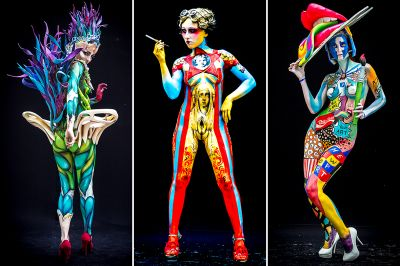 The Human Body As A Canvas The World Bodypainting Festival Is Back A Brush And A Body Equals Art Johnrieber