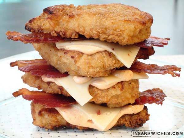 insanewich double double down