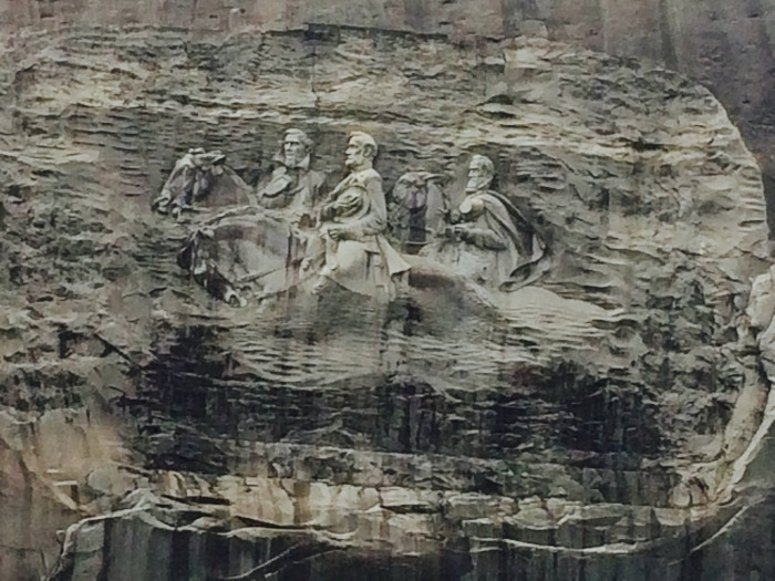 Georgia s enormous confederate memorial at stone mountain