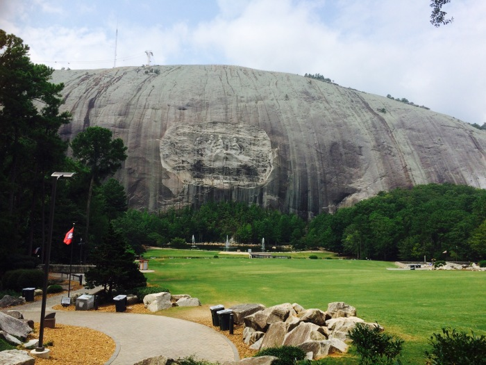 Georgia s enormous confederate memorial at stone mountain