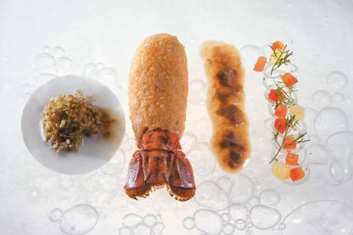 elBulli_langoustine with quinoa