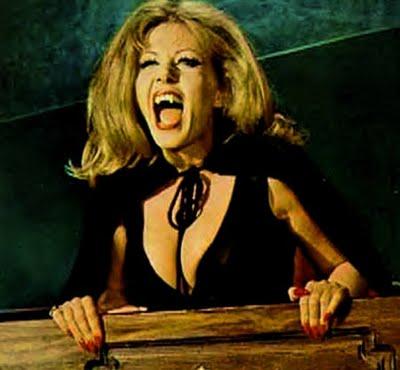 Ingrid Pitt Countess Vampire sex kitten