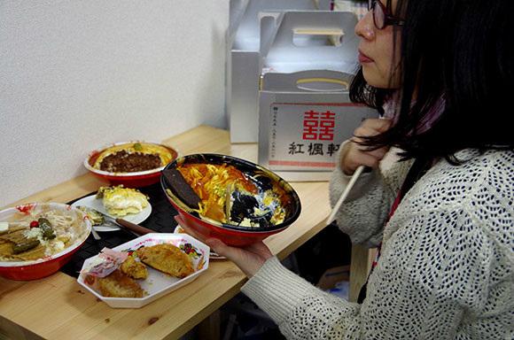fake chinese food