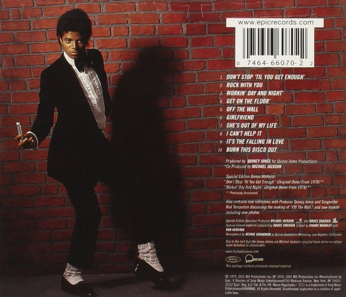 Journey Michael Jackson Wings Music With A J Includes