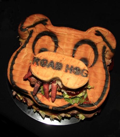 the roadhog burger