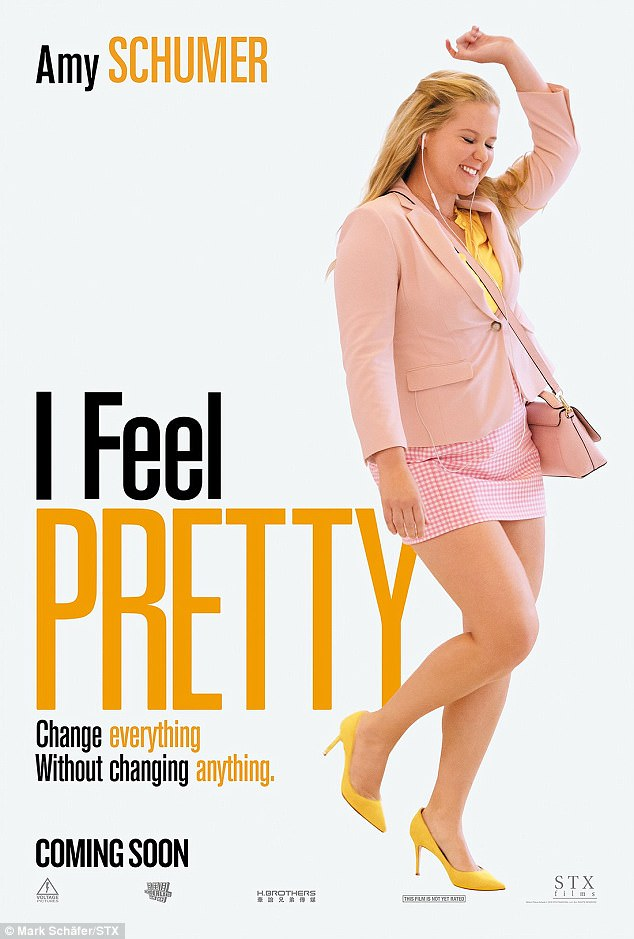 """As in previous films, Schumer once again takes on the subject of physical  beauty and, in """"I Feel Pretty"""", knocks it on its head."""