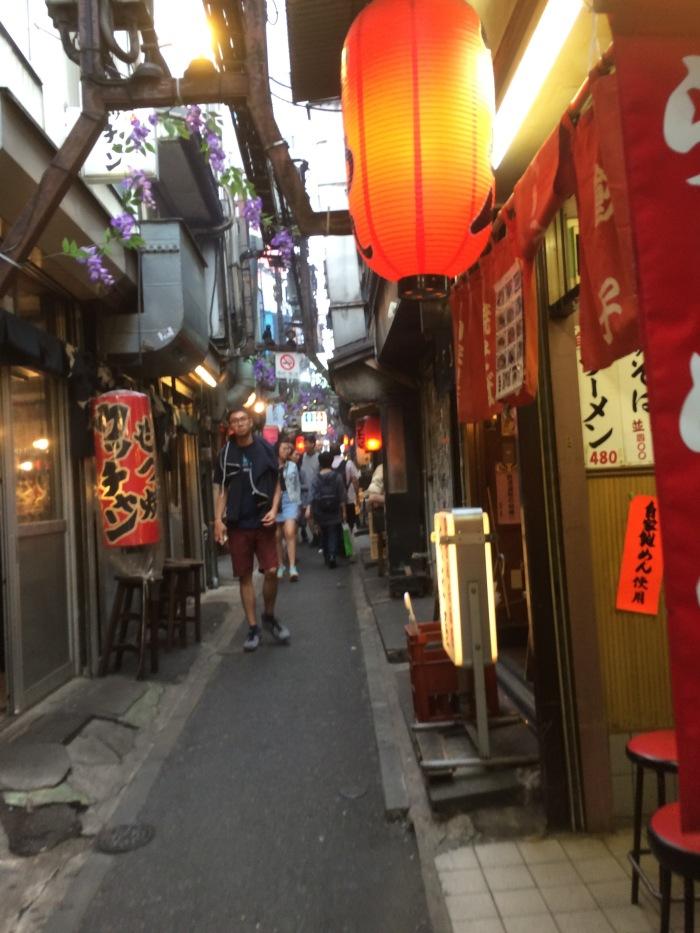Golden Gai bar district Tokyo