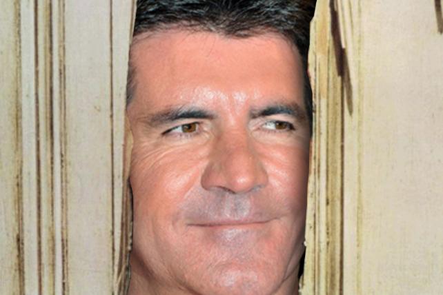 Simon Cowell Shining