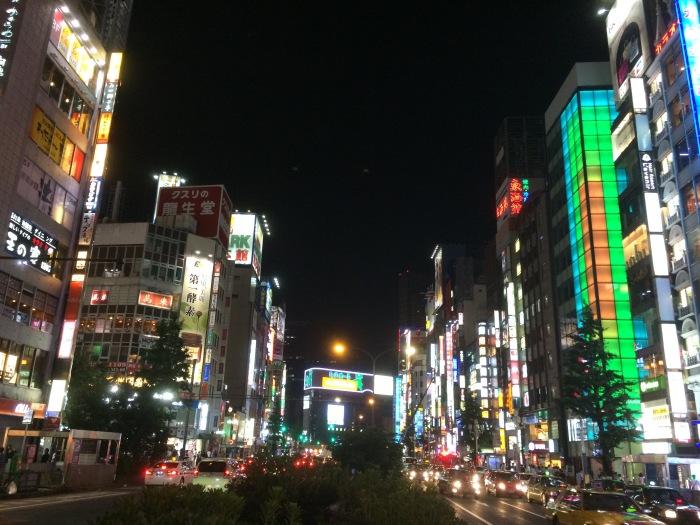 Tokyo late night neon