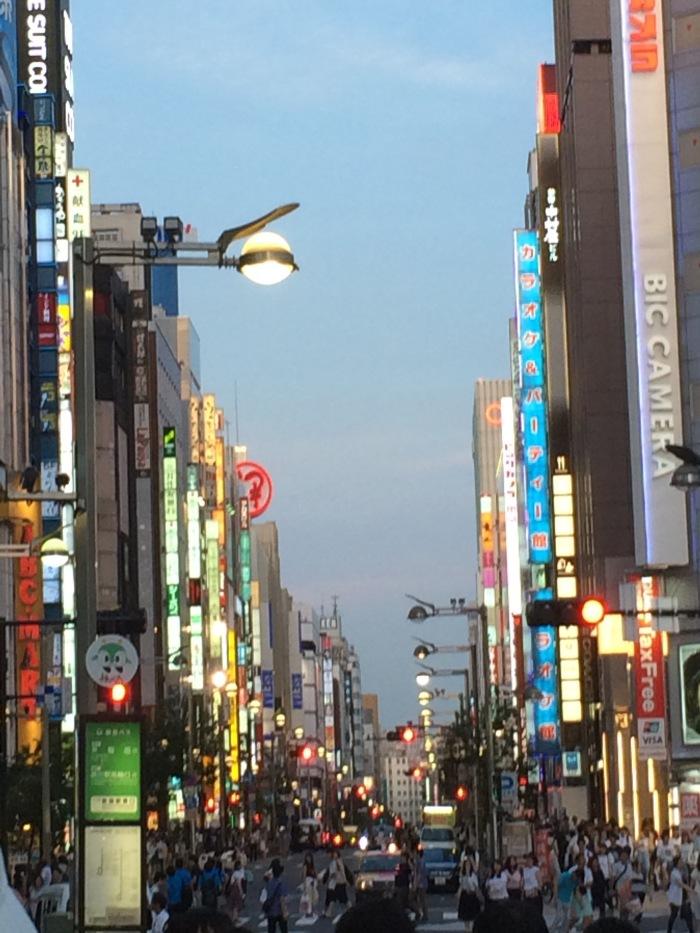 Tokyo lights July 2016