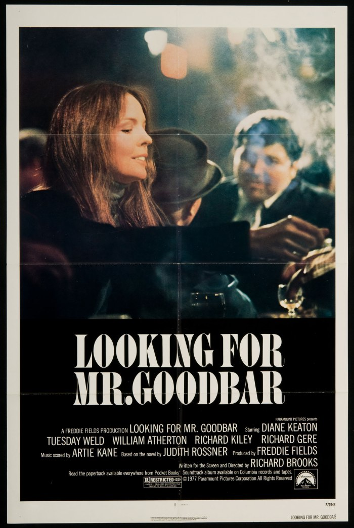 Looking For Mr. Goodbar poster