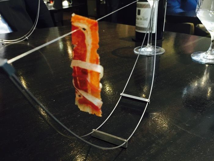 Alinea bacon dish
