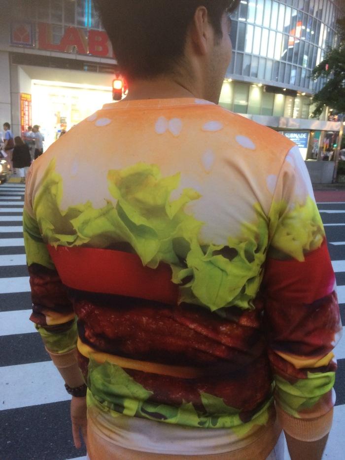 Cheeseburger shirt Tokyo