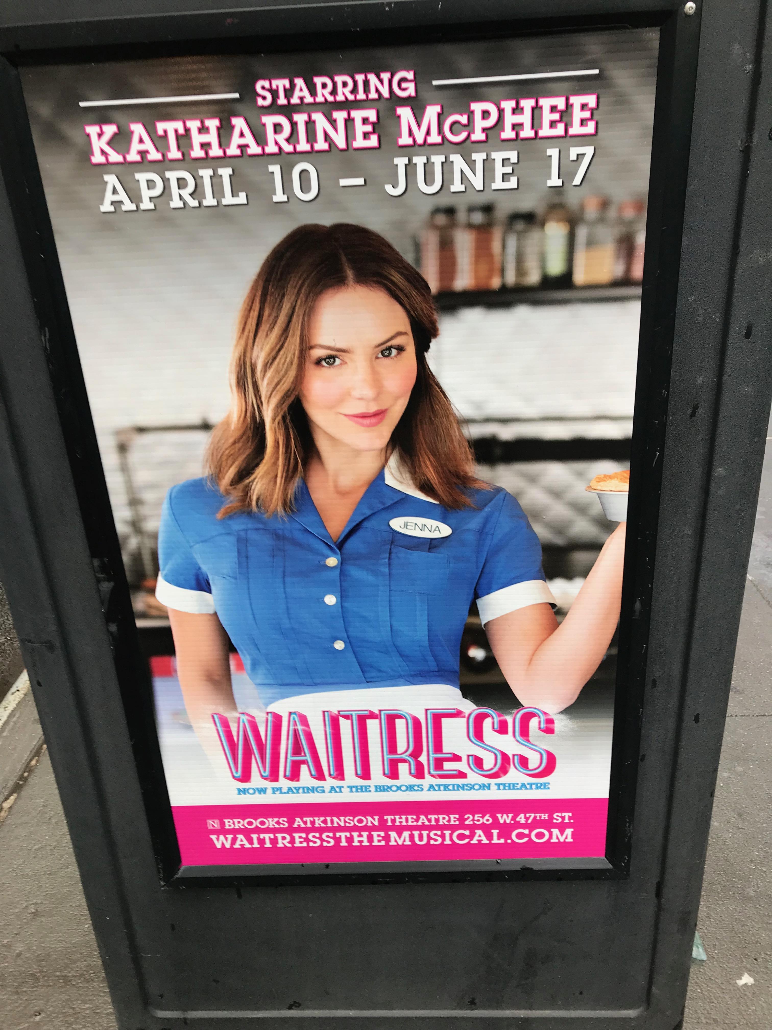 Katherine Mcphee Waitress On Broadway Johnrieber