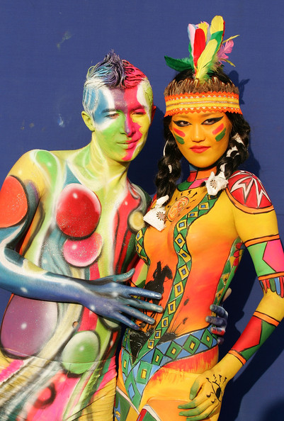 South Korea Body Painting Festival Johnrieber