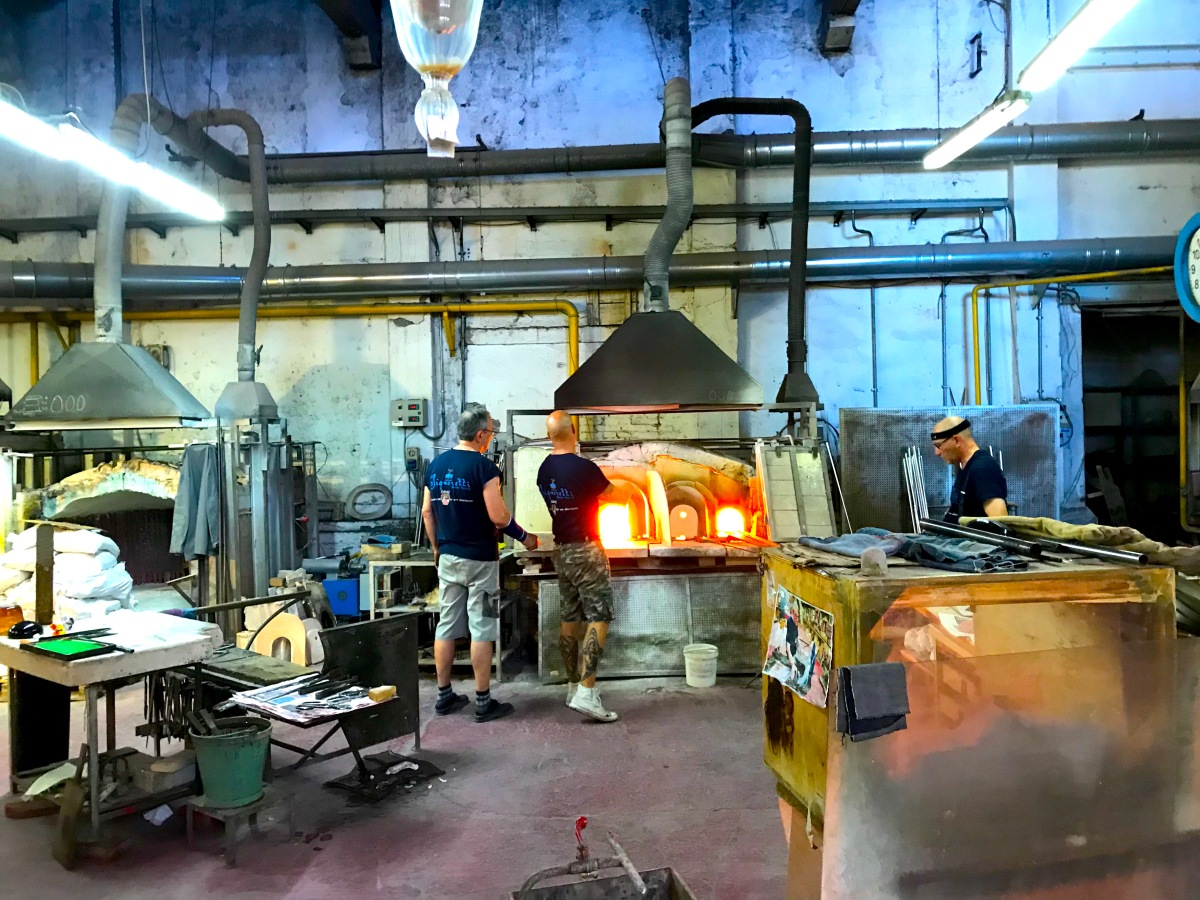 Glass Blowing Magic In Murano Italy! See A Stallion Created In Front Of Your Eyes!
