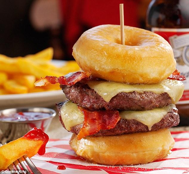 controversial 2000 calorie burger