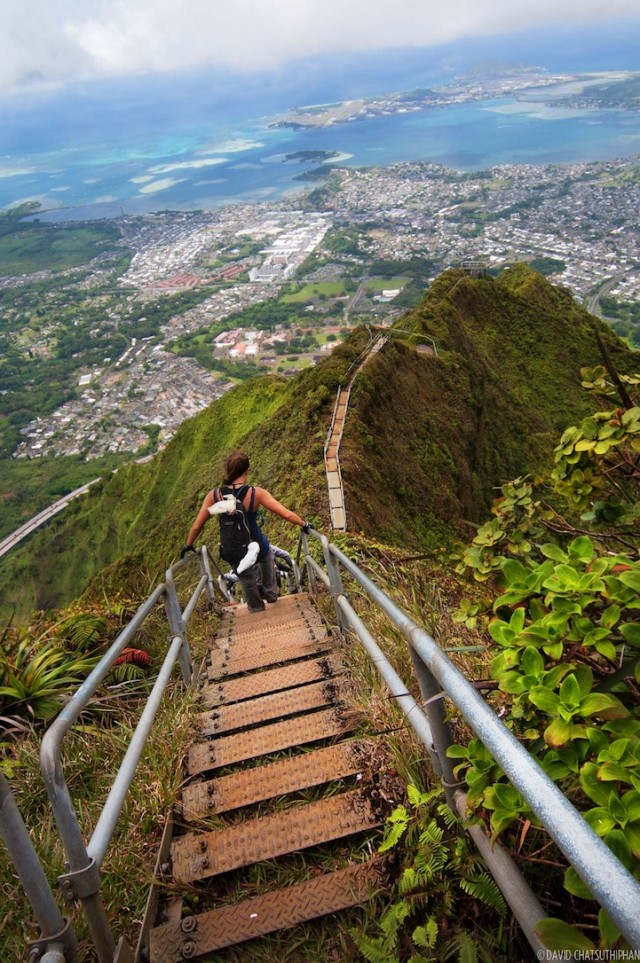 Stairway to heaven hiking path