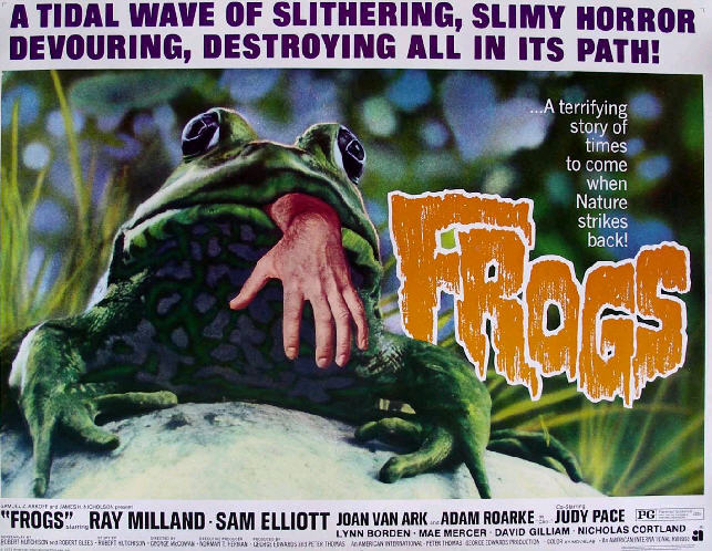 frogs horror film