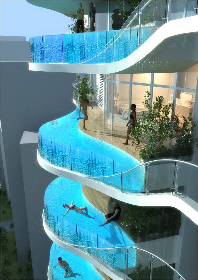 Amazing outdoor pools
