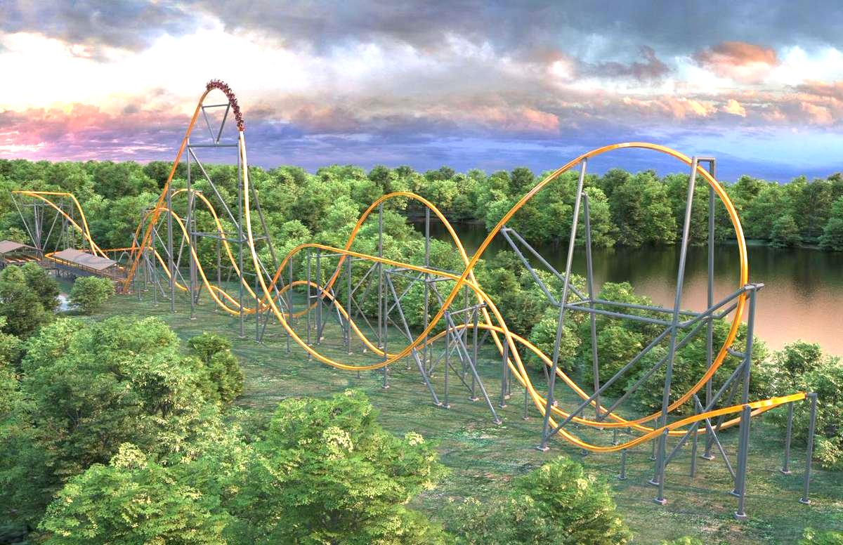 Wow The Jersey Devil Coaster Is Here Ride The World S Longest Scream Machine I Ve Got Video Johnrieber