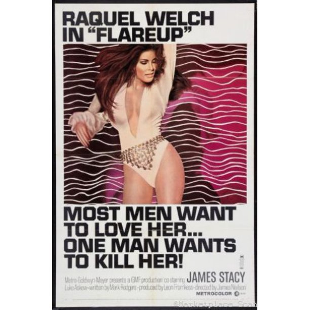 This image has an empty alt attribute; its file name is raquel-welch-flareup.jpeg